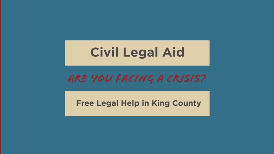 Civil Legal Aid - English