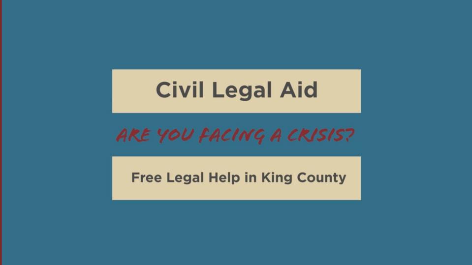 Civil Legal Aid - English