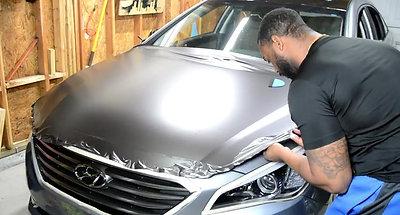 Hyundai Sonata Hood Wrap