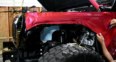 Jeep Wrangler Fender Wrap