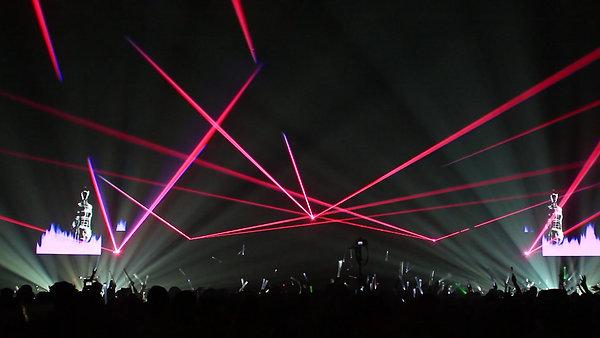 Laser show in Vermont - Ski Resort outside of Burlington Special event Concert