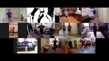 Tap Virtual Recital Dance