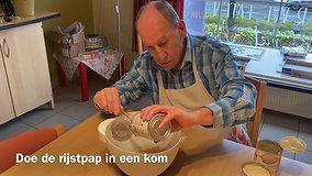 De Bolster Huis Zingem leert Kruisem rijsttaarten maken!