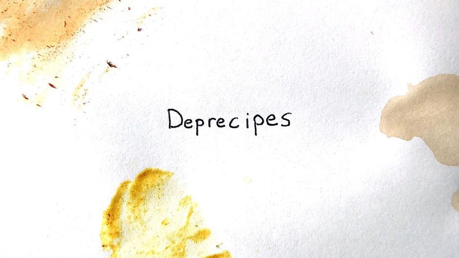DEPRECIPES