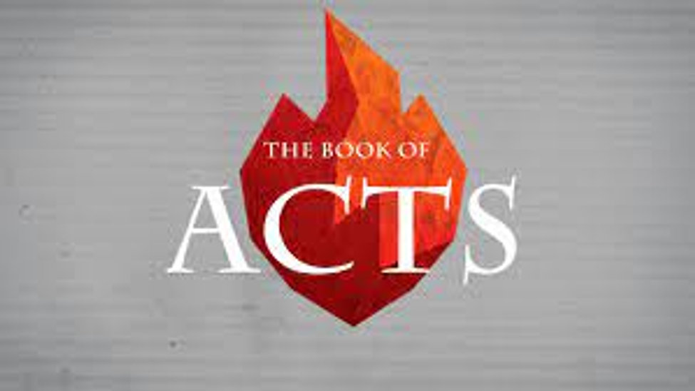 The Books of Acts Sermon Series