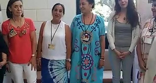 PRESENTACION TALLERISTAS DEL FESTIVALL DU FEMININ MEXICO  MAYO 2018