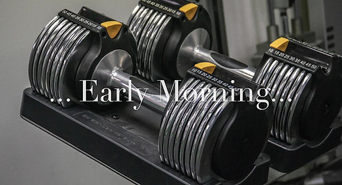 Early Morning Total Gym Challenge