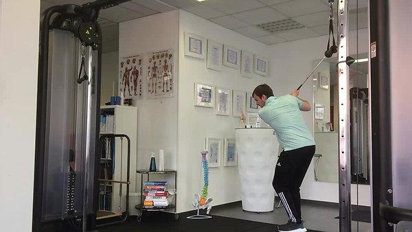 Golfspezifisches, präventives und leistungssteigerndes Training