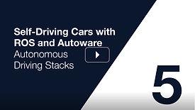 Autoware Course Lecture 5