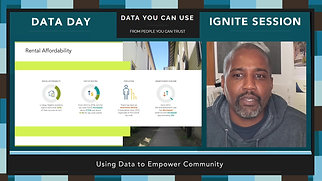 Data Day 2020 - IGNITE - Using Data to Empower Community