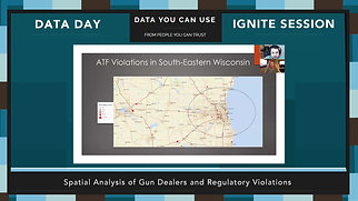 Data Day 2020 - IGNITE - Spatial Analysis of Gun Dealers and Regulatory Violations