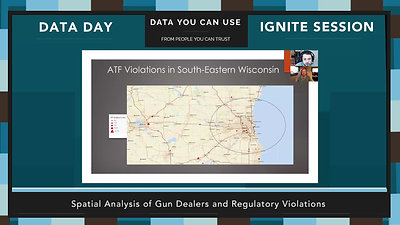 Data Day 2020 - IGNITE - Spatial Analysis of Gun Dealers and Regulatory Violations