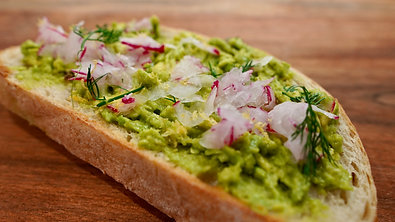 Avo Toast with the Most