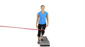 Descente de marche avec élastique (GEN23675)
