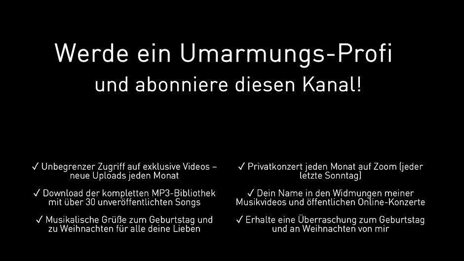 Umarmungs-Profi