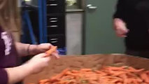 Cleaning Carrots