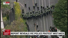 Victoria Police incapable of dealing with anti-lockdown protests- report finds