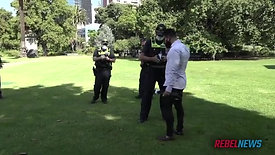 Police forcibly EJECT journalist Avi Yemini from Dan Andrews press conference
