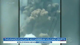 Only those Vaccinated against Covid are being Rescued after Volcanic Eruption in St. Vincent