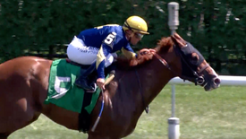 RED RIGHT HAND ROMPS AT SARATOGA: 8.09.19