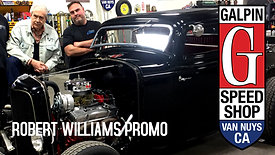 Galpin Speed Shop Promo Featuring Robert Williams