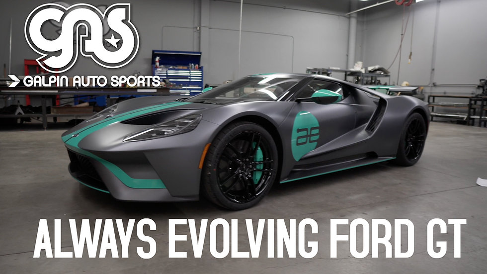 Always Evolving Ford GT
