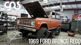 1969 Ford Bronco Redo - Tear Down