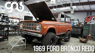 1969 Ford Bronco Redo - Tear Down