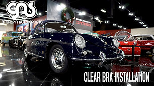 Porsche 356 -  Clear Bra Install