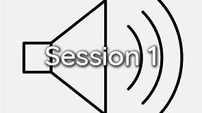 Audio Session 1