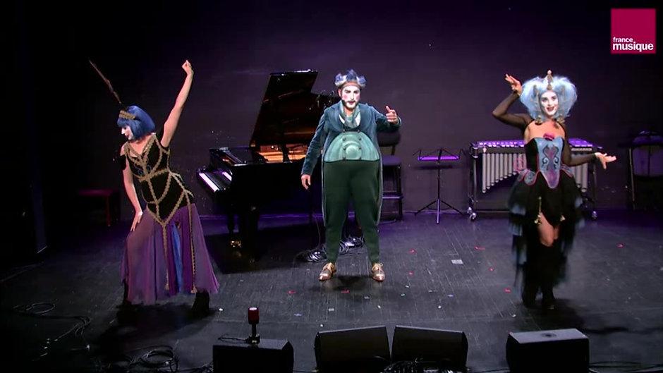 Tony Boldan dans The Opera Locos dans l'émission Génération France Musique