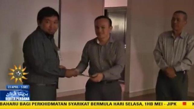 Jalinan Kerjasama GM Peladang dan Brunei Darussalam.
