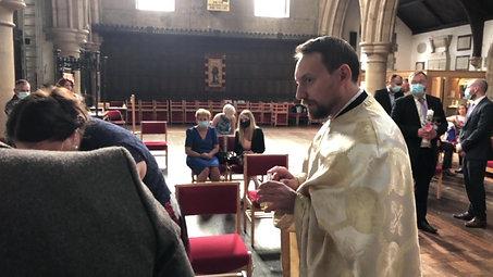 The Christening of Izabella Mary