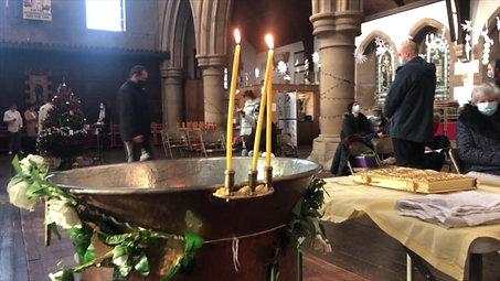 Darko's Christening - Cambridge, UK