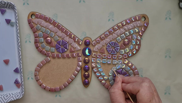 Butterfly Mosaic Kit Tutorial video