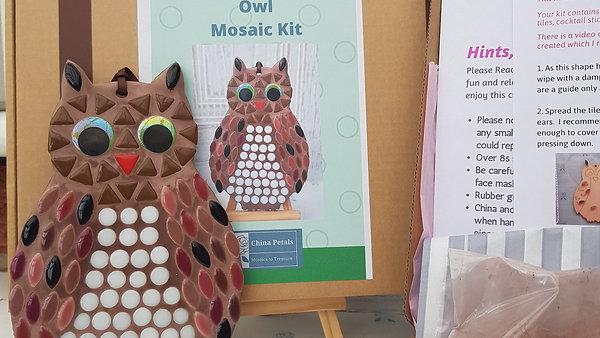 Owl Mosaic Kit Tutorial