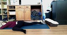 MORNING hips back pelvis