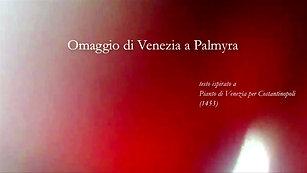 """V atto di """"Omaggio di Venezia a Palmyra"""", azione teatrale (15 dicembre Aula Magna - IUAV di Venezia)V atto di"""
