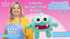 BIBOO, O MONSTRINHO - PASSO A PASSO EM FELTRO - Santa Fé Ensina com Fabi Medico