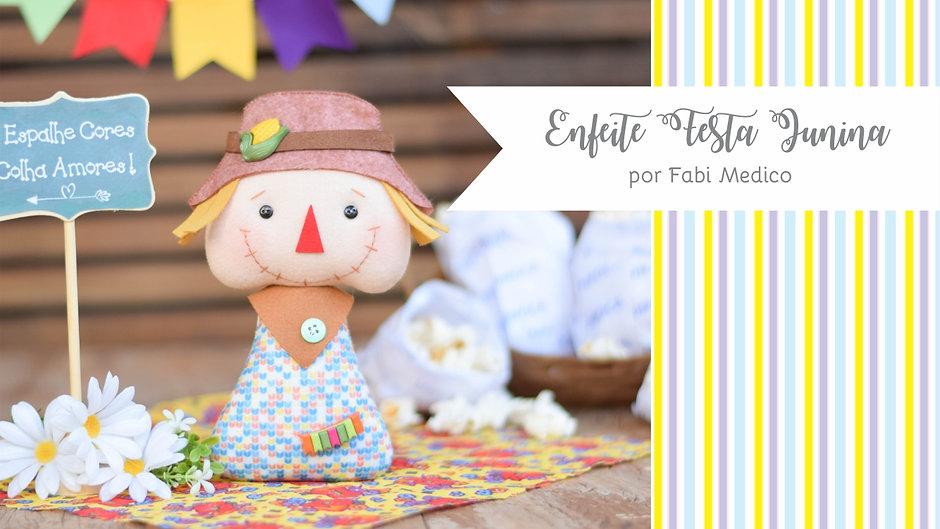 Enfeite para Festa Junina - Espantalho