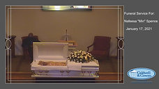"""Funeral Service for Nafeesa """"Min"""" Spence"""