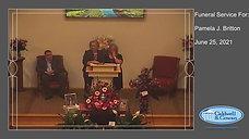 Funeral Service for Pamela J. Britton