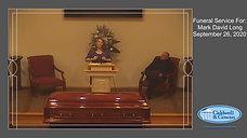 Funeral for Mark David Long