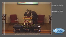 Funeral Service for Joseph Patrick Pointer, Jr.