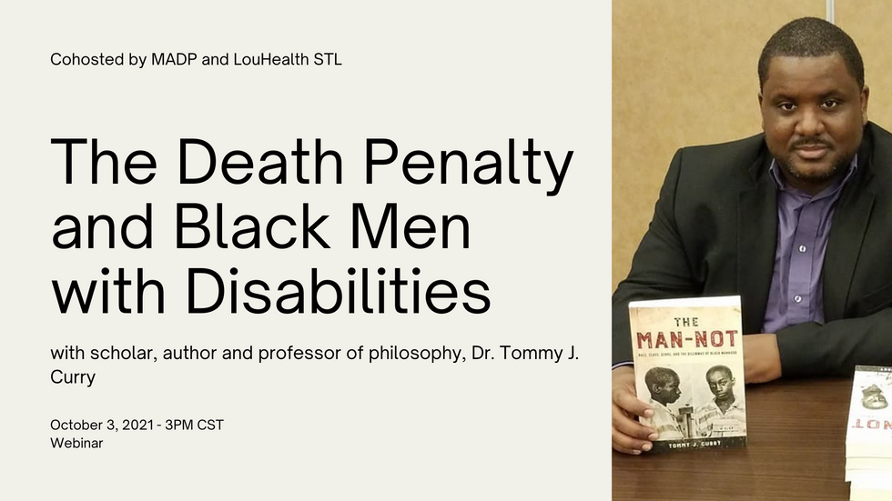 The Death Penalty and Black Men with Disabilities