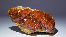 Spessartine Garnets on Matrix from Wushan Mine, China