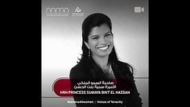 HRH Princess Sumaya bint El Hassan - Athena40 Women Voices of Tenacity