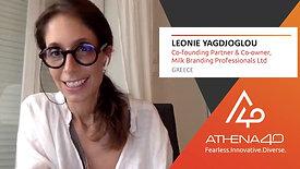 Leonie Giagdzoglou - Athena40 Women Voices of Tenacity