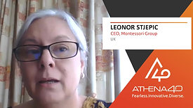 Leonor Stjepic - Athena40 Women Voices of Tenacity