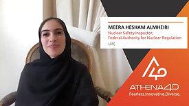 Meera Hesham AlMheiri - Athena40 Women Voices of Tenacity